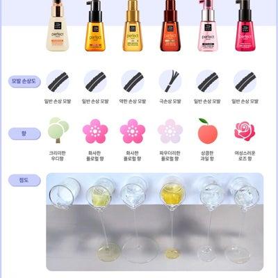 これは分かりやすい!愛用ヘアケア【ミジャンセン】6種類の香りと粘度〜♪の記事に添付されている画像