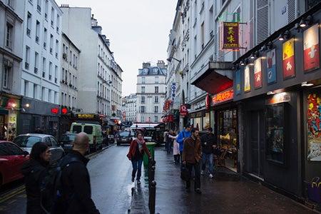ヨーロッパの街角