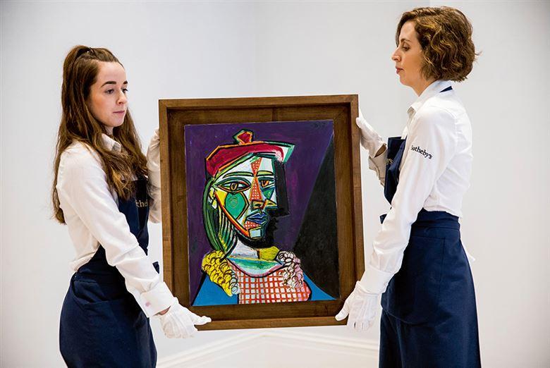 スペインの画家で、彫刻家のパブ...