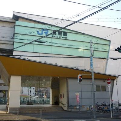 阪和線長居駅の記事に添付されている画像