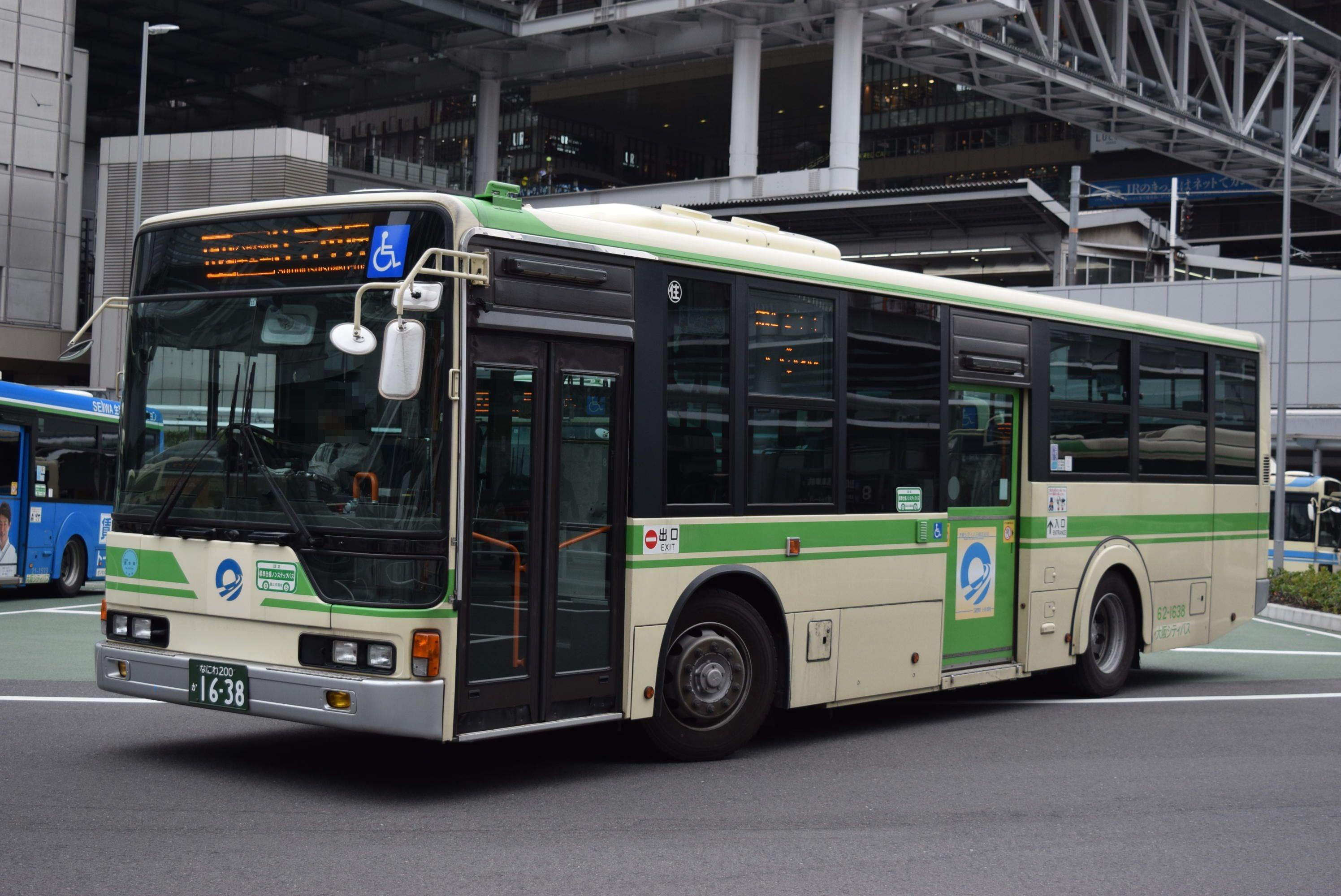 大阪シティバス 62-1638 | 気ま...