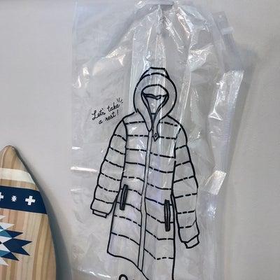 【衣類収納】3COINSで発見した洋服カバー!の記事に添付されている画像