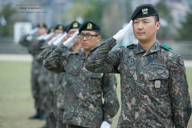 韓国兵役] 軍隊の階級制度   Oh Ma Baby