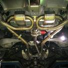 Z34 マフラー加工 HKS SSMマフラー改電動バルブの記事より