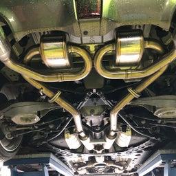 画像 Z34 マフラー加工 HKS SSMマフラー改電動バルブ の記事より 3つ目