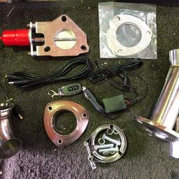 画像 Z34 マフラー加工 HKS SSMマフラー改電動バルブ の記事より 1つ目