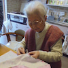 入園シリーズ 曾孫さんのために巾着作りの画像