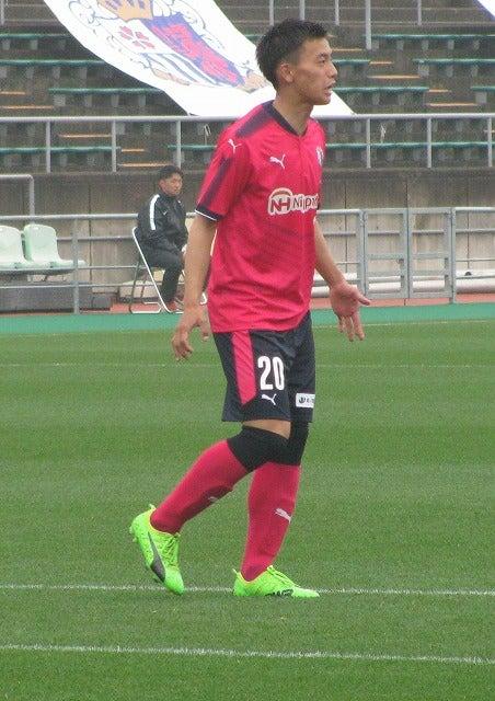 中島大雅(C大阪U18→近大・DFとFW)。