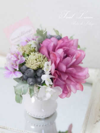 Floral Ele‐Styleの体験レッスン★