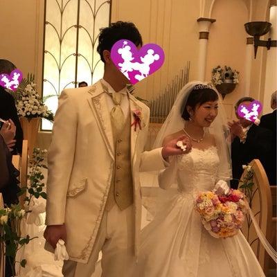 Disney Weddingの記事に添付されている画像