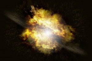 ビッグバンは超新星爆発