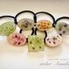 [参加者募集]風薫る5月 花を楽しむ UVレジンで作るヘアゴムの画像