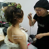 寒い冬でもドレスに合う魅せる肌をメイクすると女優になれますの画像