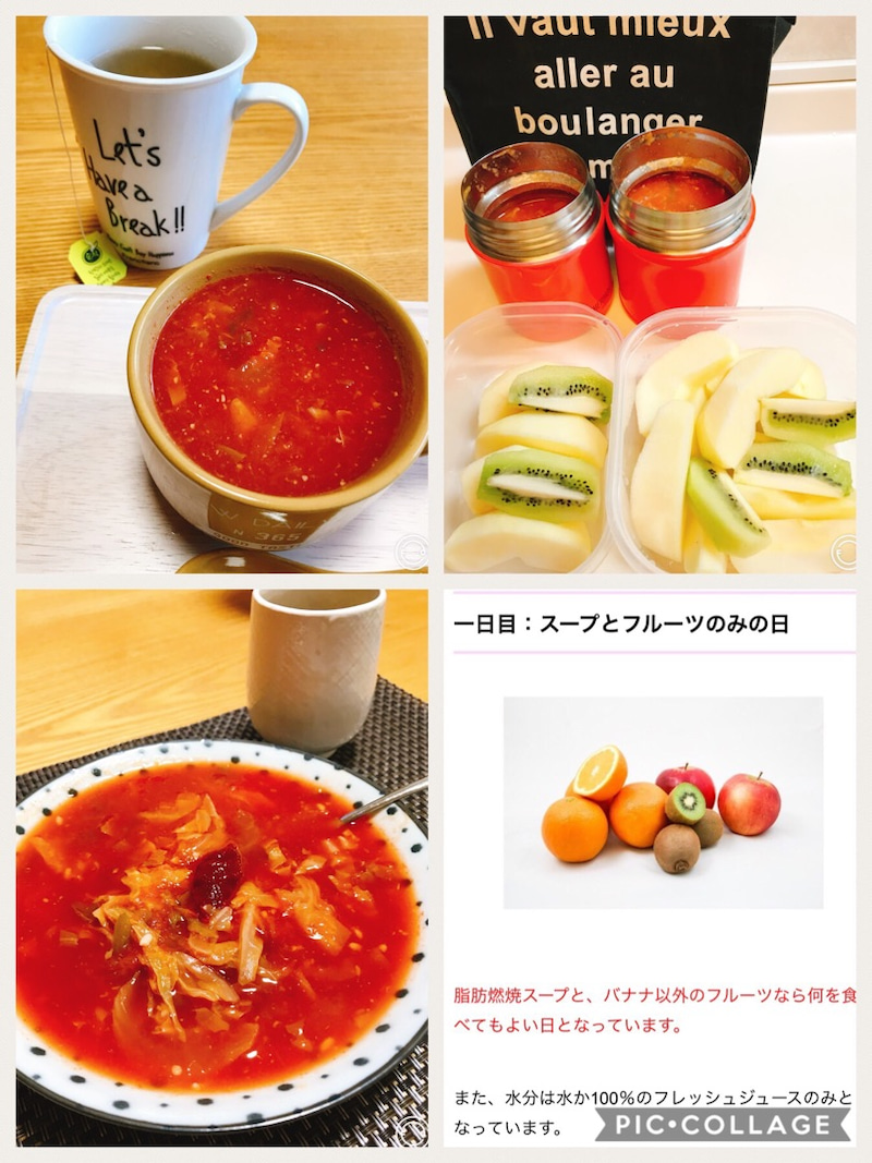 脂肪 燃焼 スープ ダイエット