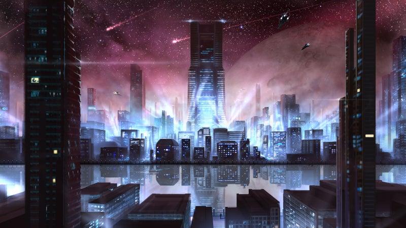 イラスト】宇宙都市 | sorametor...