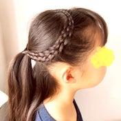 5つ編み込みのハートヘアアレンジ♡