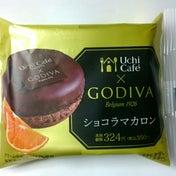 きょうのおやつ ローソン Uchi Cafe x GODIVA ショコラマカロン