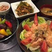 【昨日の晩ごはん☆お安いムネ肉で鶏マヨ!】