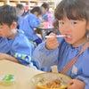 今日の給食は豚丼♪(年中・ばら組)の画像
