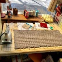 きのうは、編み物基礎…