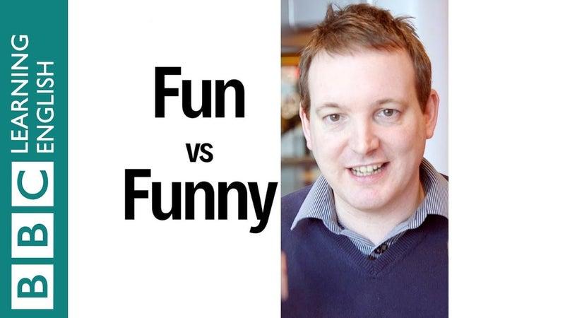 fun と funny の使い方 ホープイングリッシュ公式ブログ