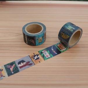 ひとりにひとつは持っておきたい!かわいらしい『マスキングテープ』登場の画像