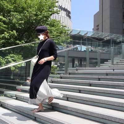 ワンピ&プリーツスカート重ね着コーデでmyclozette&cen POPUPへの記事に添付されている画像