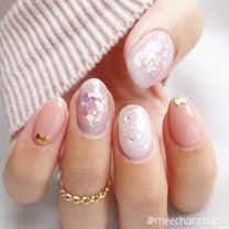 梅雨に向けて☆紫陽花ネイルの記事に添付されている画像