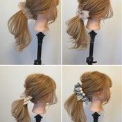お洒落さんに大人気【アネモネ】のヘアアクセ活用法(1)