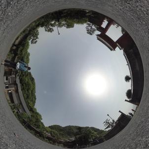 360度カメラで撮る思い出の写真の画像