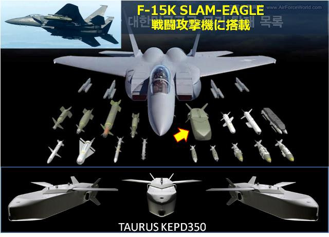 韓国が2016年に導入した巡航ミサイル タウルスKEPD350 | 電気なんか ...