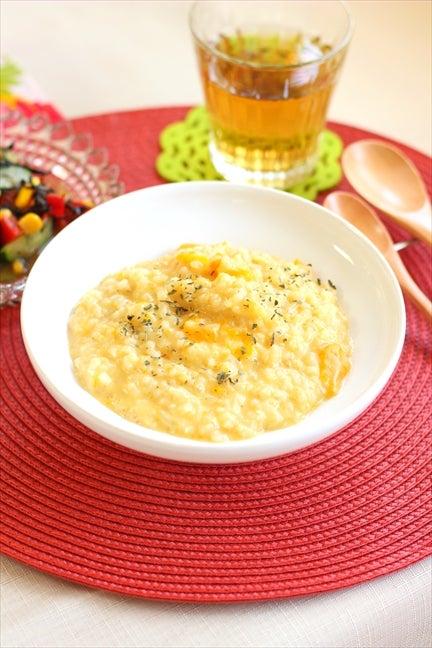 柏料理教室 パンプキン豆乳玄米リゾット