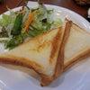 喫茶店でホットサンド@Cafe Kinaの画像