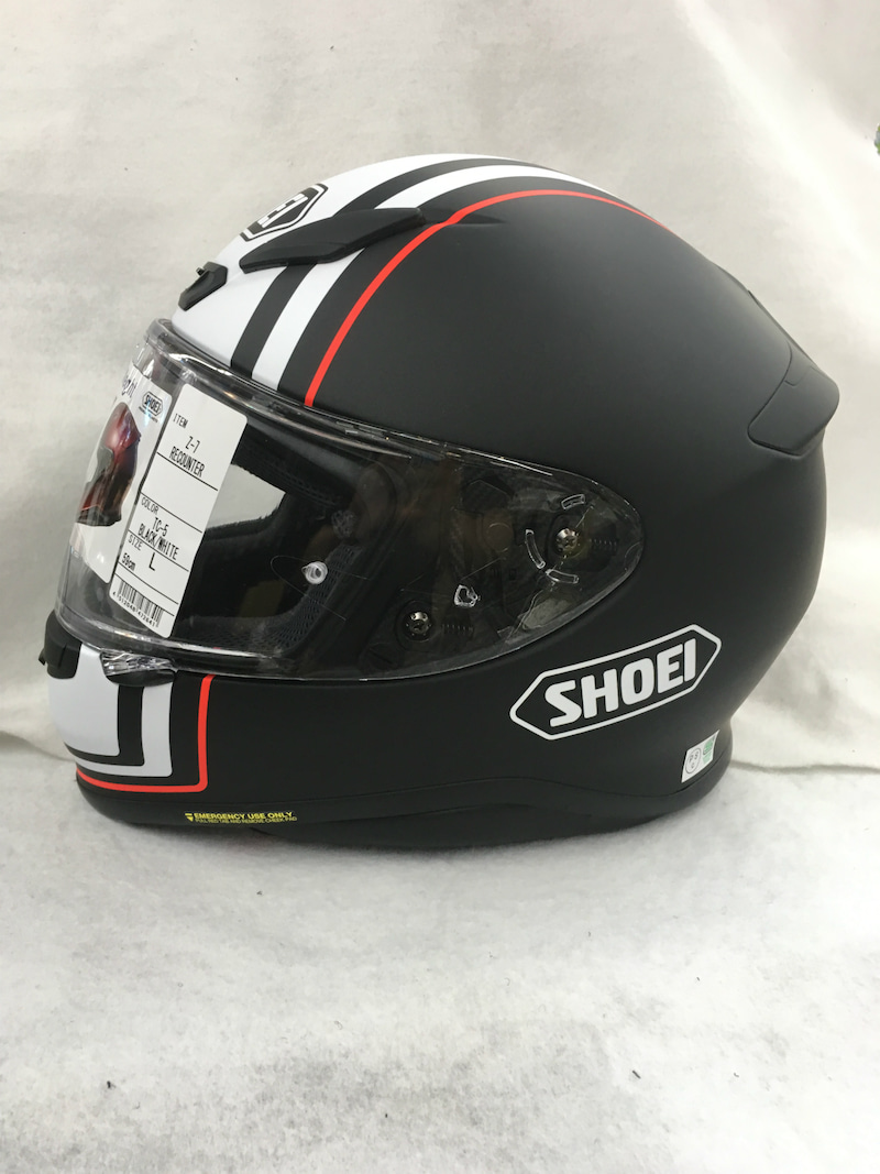 連日の新商品入荷!! Shoei Z 7 Recounter(リカウンター) ライコランド柏店 ヘルメット担当青木のこだわり