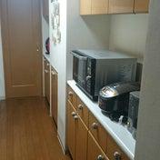 キッチンバックカウンター(食器棚)の収納③