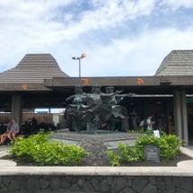 ハワイ島到着