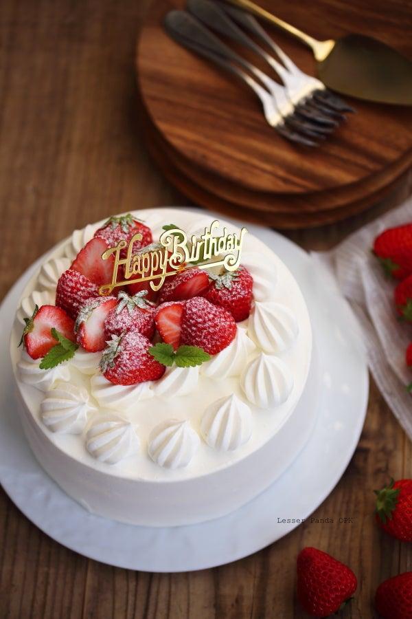 いちご デコレーション ケーキ