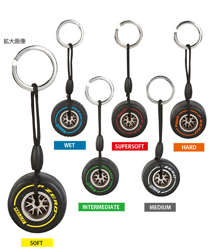 Pirelli Tyre Keyring Automotive Key Rings Automotive Gifts Merchandise