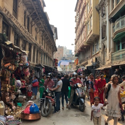 ネパール・カトマンズのおススメダルバート屋さん♡の記事に添付されている画像