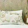 可愛い刺繍のリングピローの画像