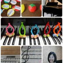 自分のピアノレッスン…