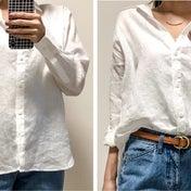 UNIQLO シャツの抜き襟・ウエストインのやり方^ ^