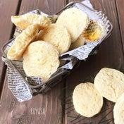 卵&バター不要!!昔ながらで懐かし❤️レモンヨーグルトの素朴クッキー