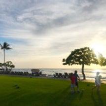 ハワイの今日のサンセ…