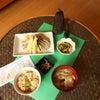 掘ってきた筍の筍ご膳の画像