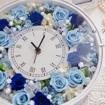 インテリアの一部に 素敵な花時計を完成されましたの記事に添付されている画像
