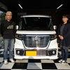 茨城県 T様 CX-5に続きスペーシアカスタムHV ご購入ありがとうございました♪の画像