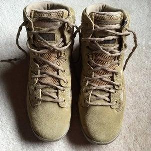 探険靴の画像
