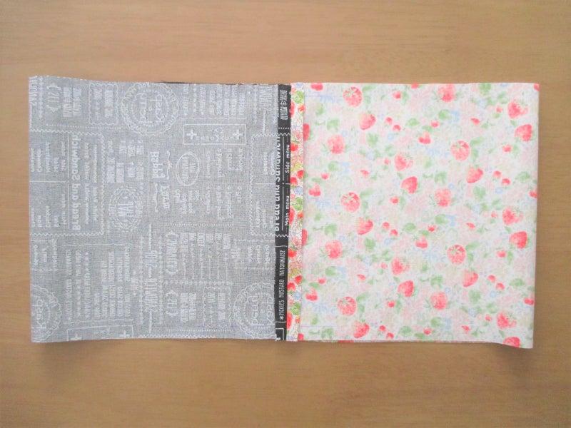 簡単かわいい!裏地付き巾着袋の作り方 ④