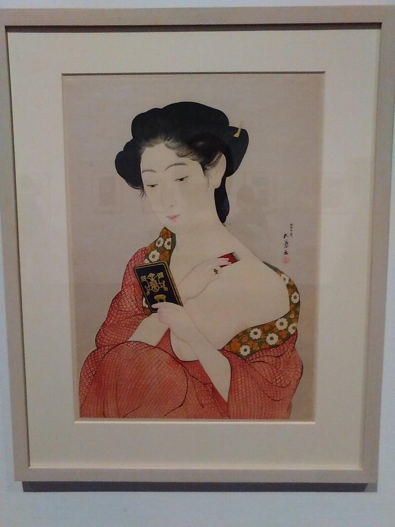 浮世絵モダーン 於 町田市立国際版画美術館 で美人画をたっぷり